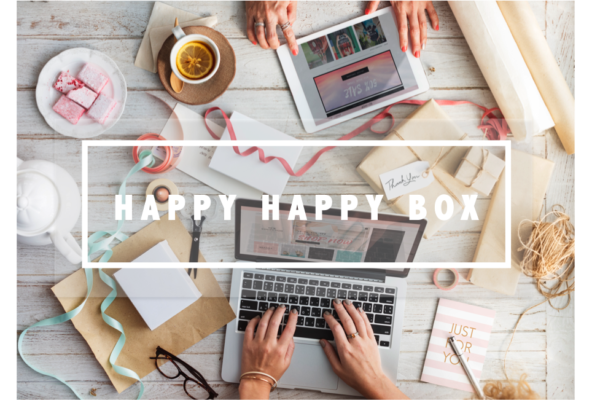 happy happy box banner
